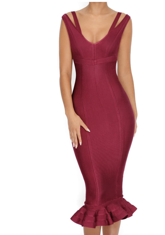 Alison Fishtail Elegant Dress