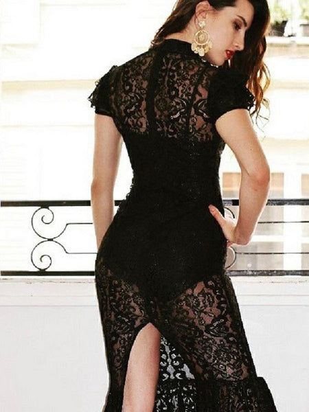 Gabrilitta Black Lace Dress Lace Dresses Collection Miami Style