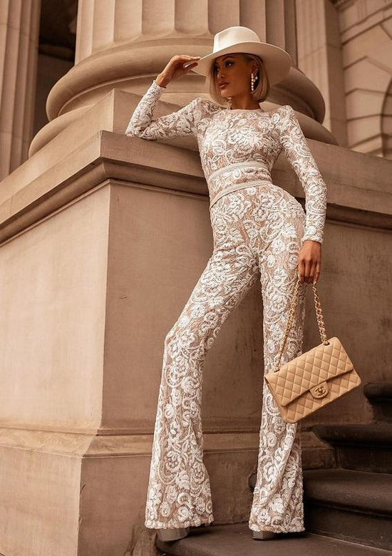 Ramina Luxury Lace Jumpsuit