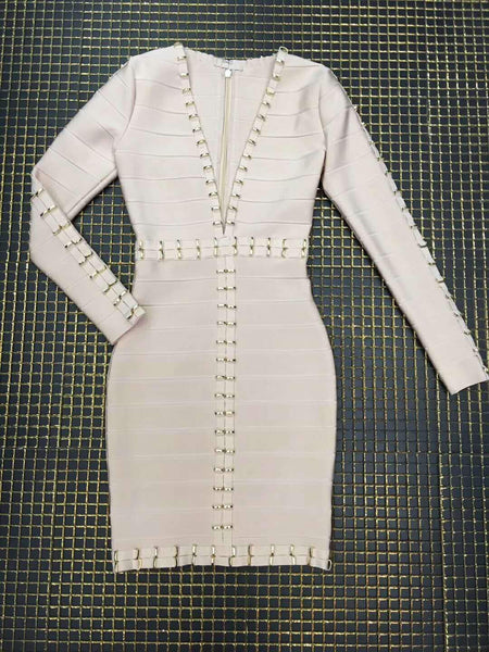 Elegant Beaded Dress Designed Miami Women's dresses for Miami Party's