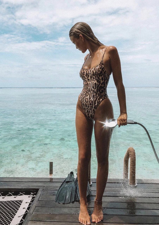 Dolce the Perfect Leopard Print One Piece