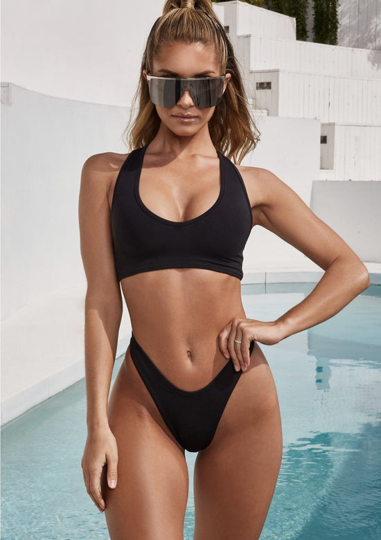 Racer Back Atleisure Bikini Set
