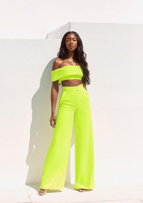 Tiara Fashion Two Piece Set Miami Style