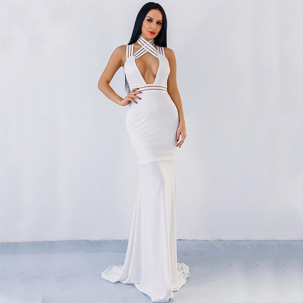 Tania Elegant Glamour Maxi dress