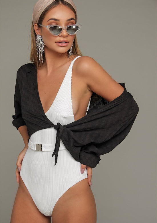 Casablanca Belted One Piece