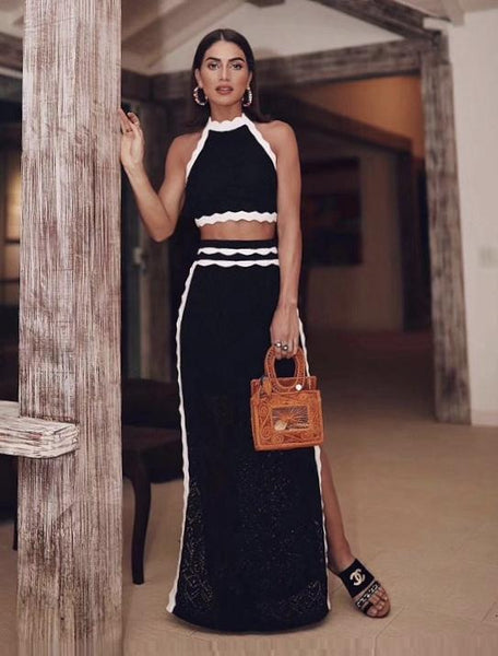 Chanel Style Elegant Maxy outfit Two piece