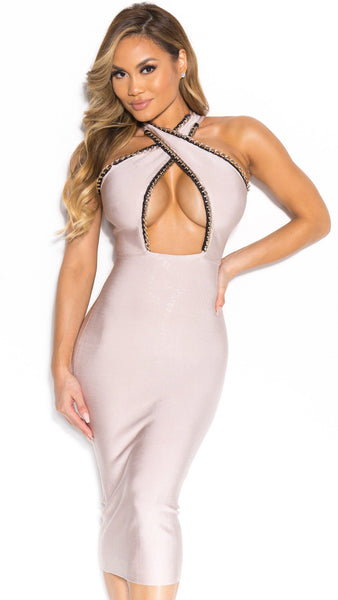 SEXY BANDAGE DRESS, Miami Party Hot Dress, Sexy Style Miami Dresses