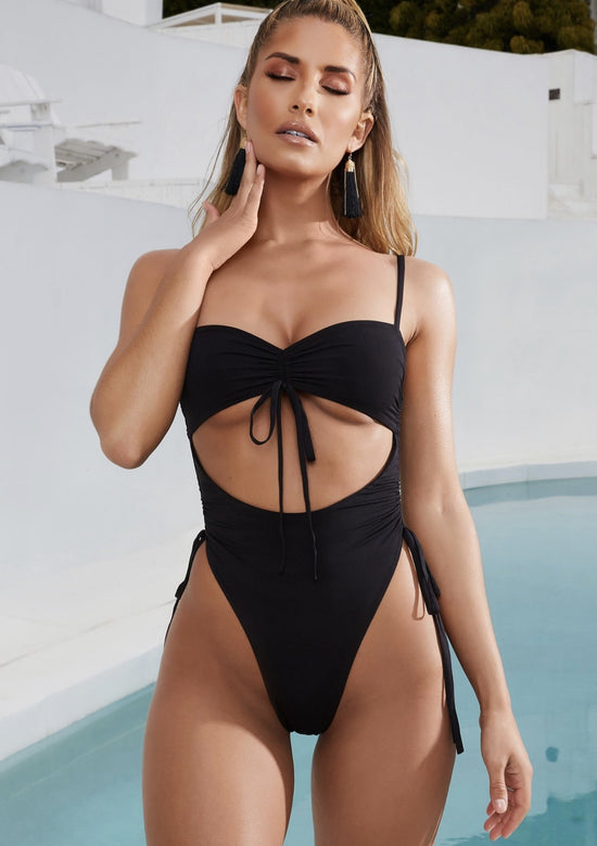 Glaze Underbust Swimsuit High Rise One Piece