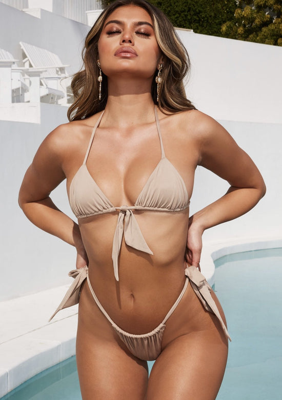 Private Island Micro Triangle Tiny Bikini