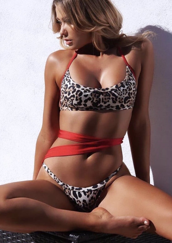 Leopard Dream Very Hot Miami Bikini