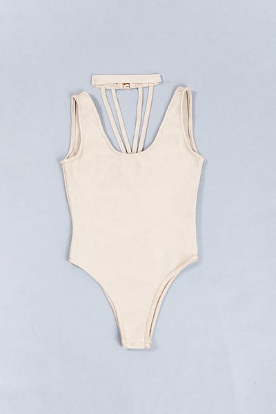 Lola Fire out Bandage Bodysuit in 4 colors