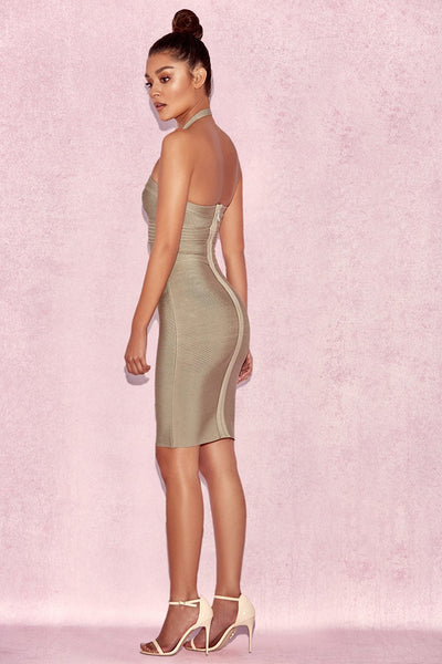 Cut Out Olive Miami Clubwear