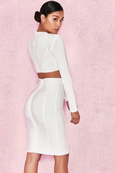 Sorcha Two Piece Glam Sexy Pencil Skirt Miami Styles