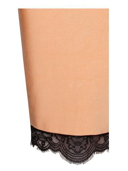 Flora Peach Bandage Dress