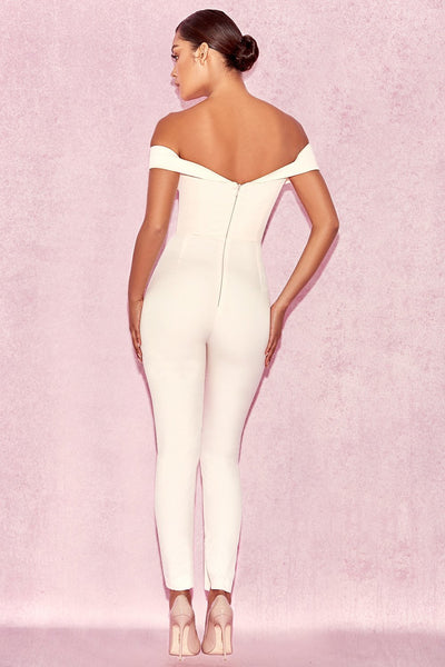 Bella off shoulder jumpsuit