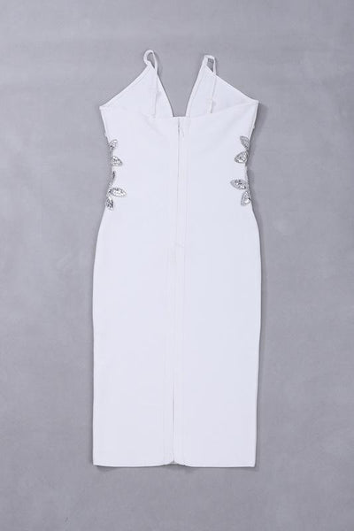 All White Club Dress