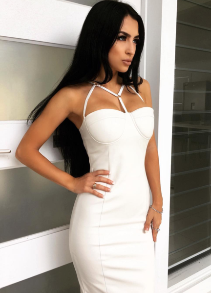 Glamour Sexy Bodycon Dress | Fashion Miami Styles
