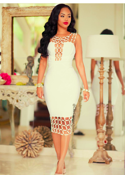 Bandage Bodycon dress Bodycon dresses Celebrity Style sexy style dress