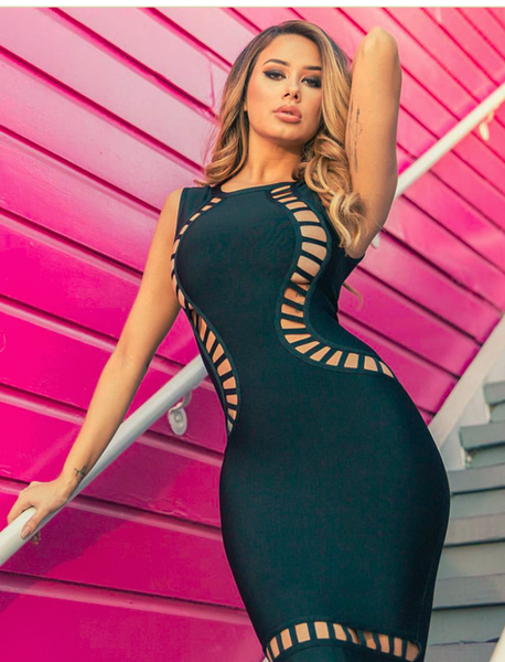 Sexy Black Birthday Bandage Dress | Fashion Miami Styles