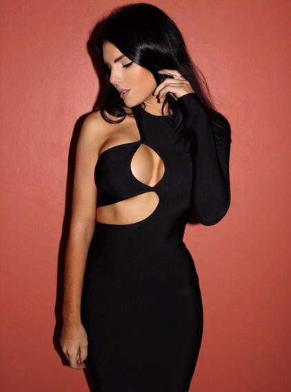 Chrissy Sexy Black Women Dress | Fashion Miami Styles
