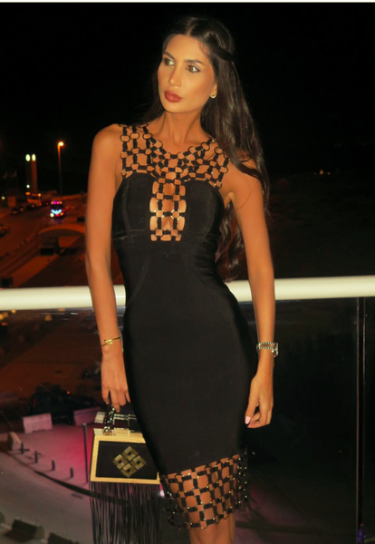 Black bandage bodycon dresses | Fashion Miami Styles