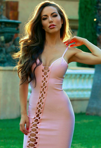 Miami Styles Bandage Dress