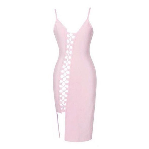 Miami Styles Bandage Dress Miami Styles