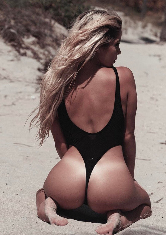 Sexy High Cut Thong One-piece in 4 colors