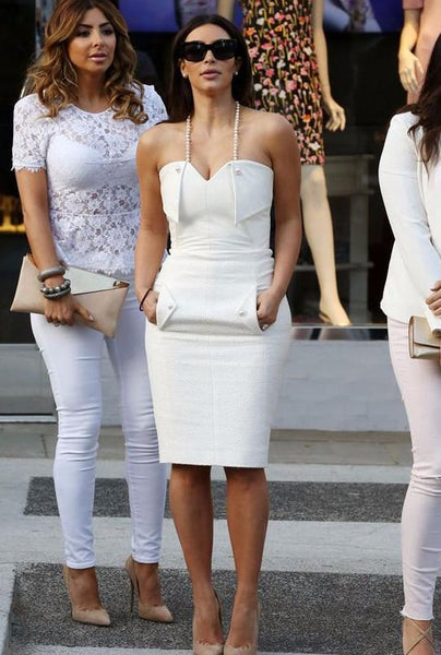 Kim Celebrity Hot Style Bandage Dress