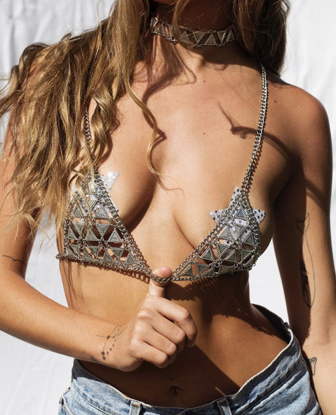 Avalon Sexy Metal Bra
