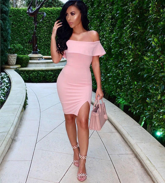 Elegant Off Shoulder Women s Party Outfits  8142bff283