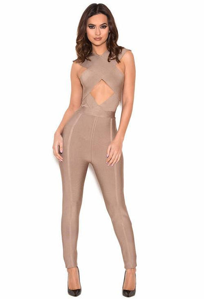 Bandage Celebrity Jumpsuit |  Fashion  Miami Styles