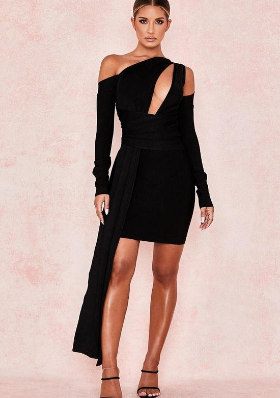 Trendy Felice Black Dress