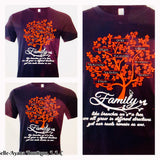 BAB  - Custom Father Family Tree -T-Shirt