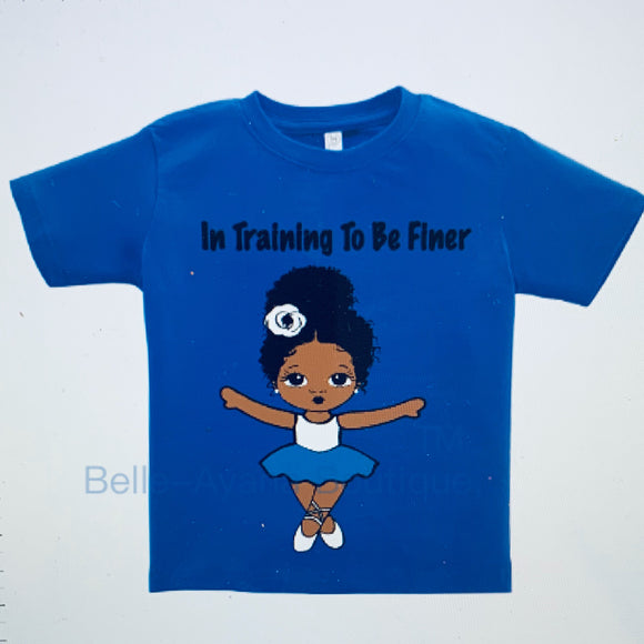 "BAB - Youth T-Shirt ""In Training to be Finer"""