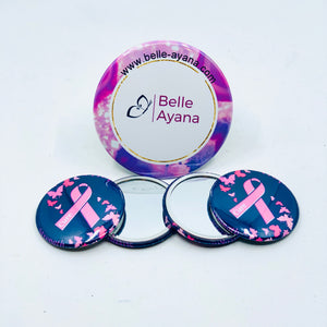 Button Pin Mirror 10
