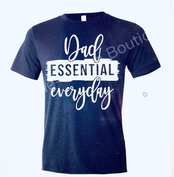BAB  - Custom Father Dad Essential - T-Shirt
