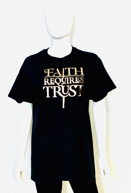 BAB  - Faith Requires Trust - T-Shirt