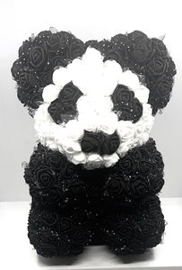 BAB - Black and White Artificial Flower Animal