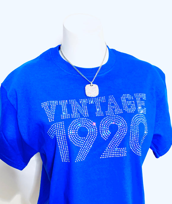 BAB Sparkle - Short Sleeve Vintage 1920 T-Shirt