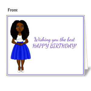BAB - Birthday Note Cards