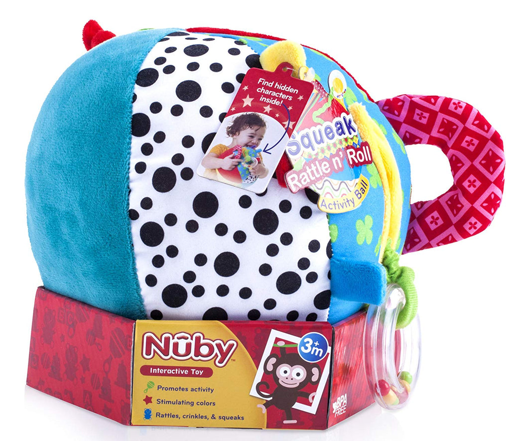 Activity Plush,Nuby Ball Rattl