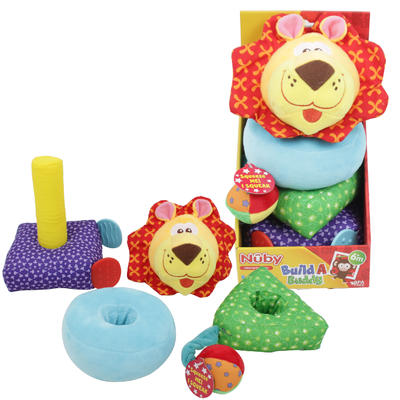 Activity Plush,Nuby Build A Bu