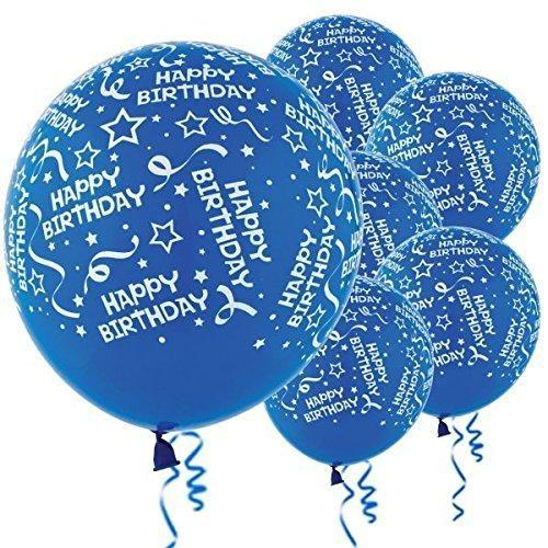 Balloon Bday Royal 6pk