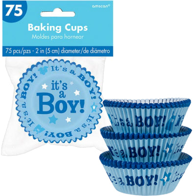 Baby  Boy Cupcake Cases