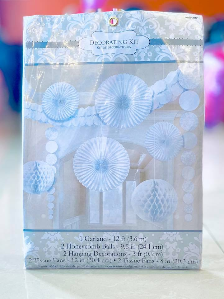 Damask Deco Kit Tiusse & Paper