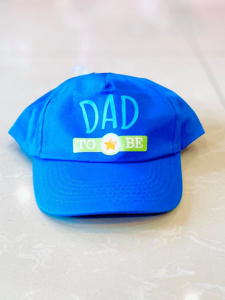 New Dad Baseball Cap-Fabric