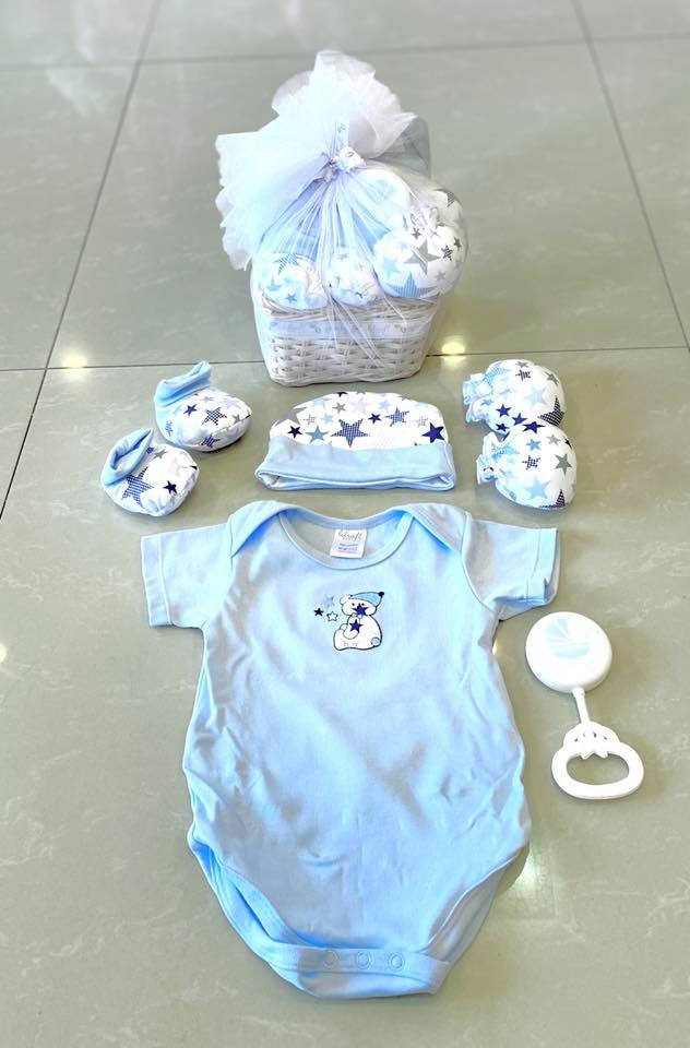 Gift Set 5pc in Basket