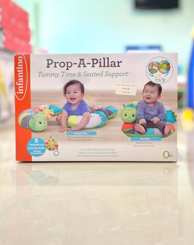 Prop A Pillar Tummy Time-Seat