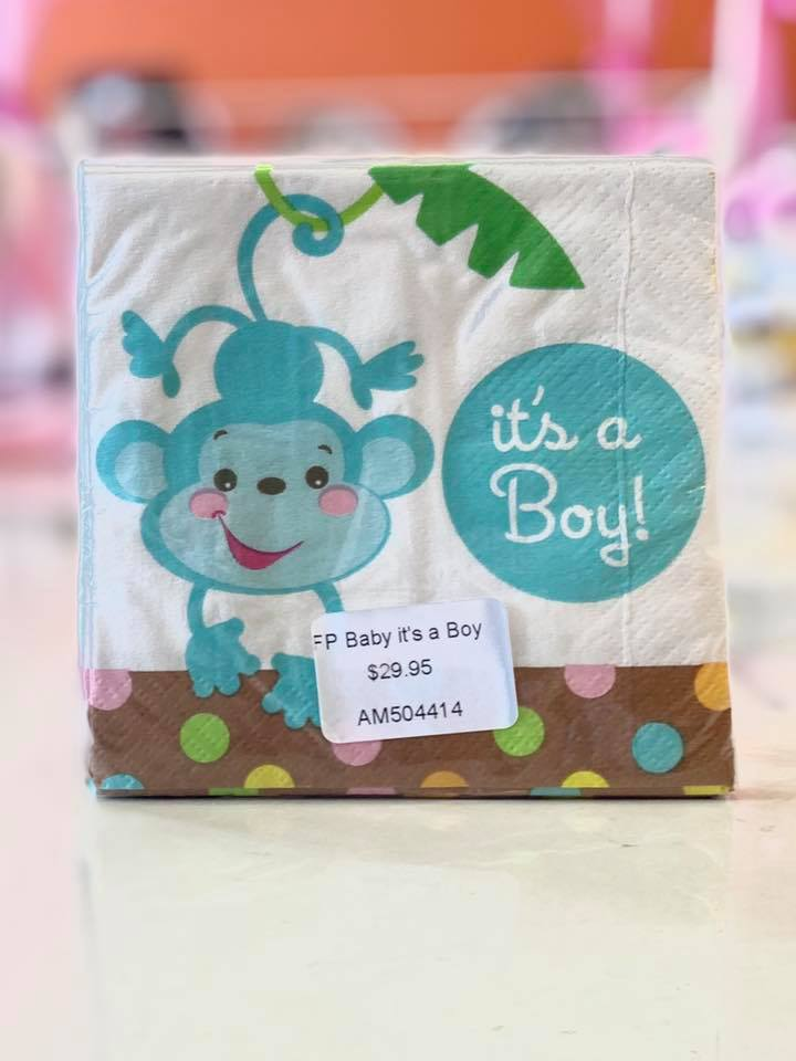 FP Baby it's a Boy Bev Napkin